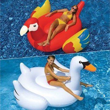 Swimline Vinyl Giant Pool Float, White