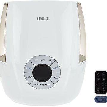 HoMedics Ultrasonic Warm & Cool Mist Humidifier with Remote