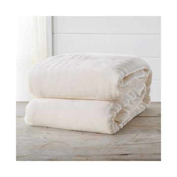 Home Fashions Designs Marlo Collection Ultra Plush Solid Full / Queen Bed Blanket