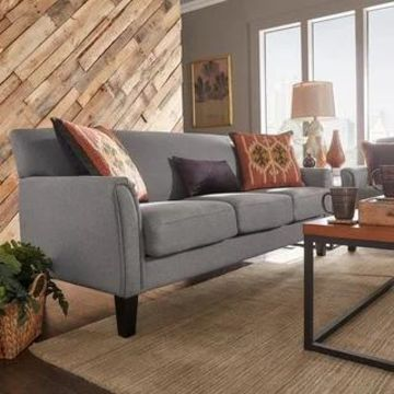 Uptown Modern Sofa by iNSPIRE Q Classic (Grey)