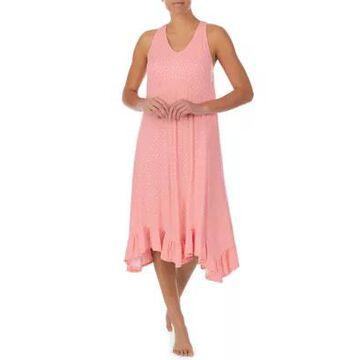 Ellen Tracy Women's Midi Gown With Satin Pillowcase - -