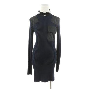 Sacai Blue Cotton Dresses
