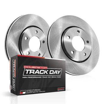 Power Stop TDBK8004 Track Day Brake Kit-Front