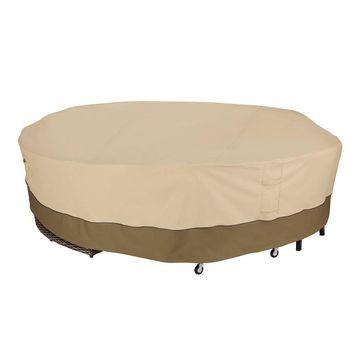 Veranda Round General Purpose Patio Furniture Cover - Classic Accessories
