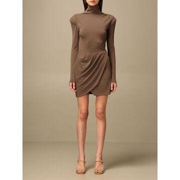 Patrizia Pepe short dress in crepe jersey