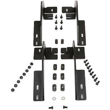 D3716221 Dee Zee Running Board Mounting Kit, steel dee zee nxc powdercoated textured black
