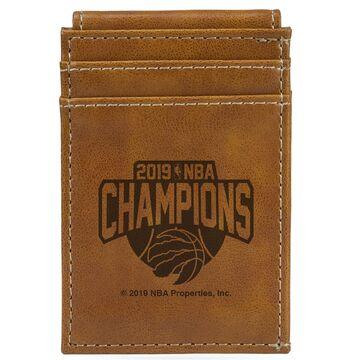 Toronto Raptors Sparo 2019 NBA Finals Champions Front Pocket Wallet