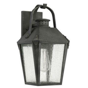 Quoizel Carriage Outdoor Medium Wall Lantern in Black