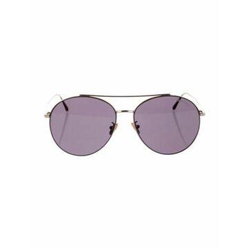 Aviator Tinted Sunglasses Gold