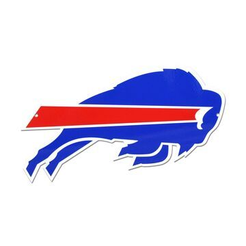 Authentic Street Signs Buffalo Bills Steel Logo Sign