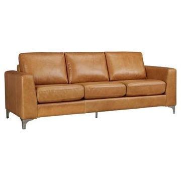 Anson Leather Sofa - Inspire Q