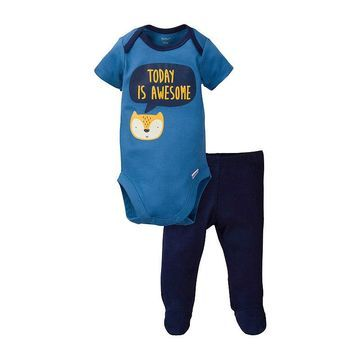 Gerber Boys 2-pc. Animal Pant Set Baby