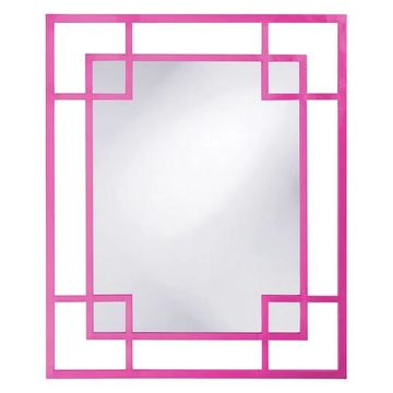 Howard Elliott Lois Mirror, Hot Pink
