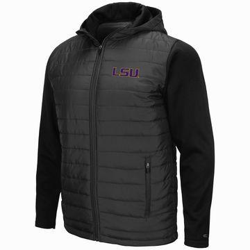 Mens NCAA LSU Tigers Everest Full Zip Jacket