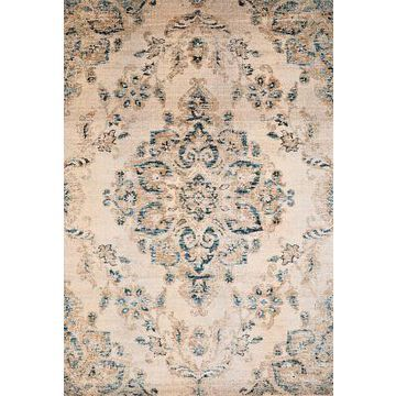 United Weavers Jules Jubilee 5'3 x 7'2 Area Rug in Parchment