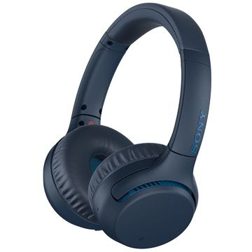Sony Blue Wireless Extra Bass On-Ear Headphones