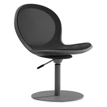 Ofm Net Series Swivel Chair With Gas Lift, Black