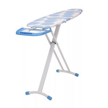 Household Essentials Euro Arch T-Leg Ironing Board with Cover