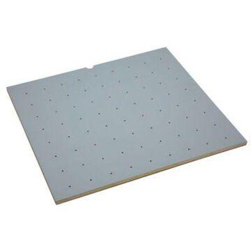 Rev-A-Shelf - 4DPBG-3021-1 - 30 x 21 Wood with Grey Vinyl Lining Peg Board Drawer Insert