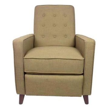 Homepop Recliner Chair Taupe