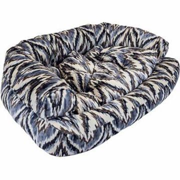 Snoozer Premium Overstuffed Sofa, Show Dog Collection, Tempest Indigo