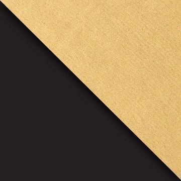 JAM Paper Industrial Size Bulk Wrapping Paper Rolls, Two,Sided Black & Gold Kraft, Full Ream (2082.5 Sq Ft), Sold Individually