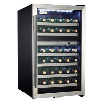 Danby DWC114 20 Inch Wide 38 Bottle Capacity Free Standing Wine Cooler with Dua