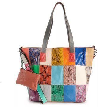 AmeriLeather FiFi Leather Tote Bag