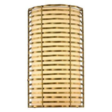 Paloma 8x14in 1 Lt Casual Luxury Sconce by Kalco
