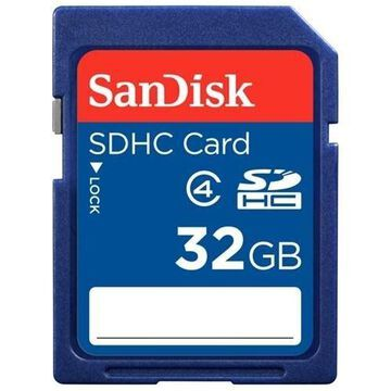 SanDisk 32GB Secure Digital High Capacity (SDHC) Flash Card