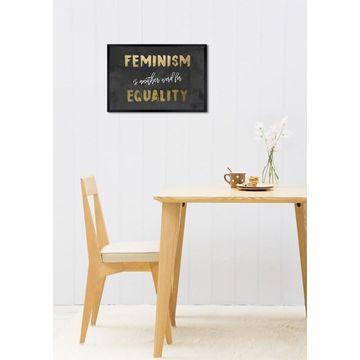 Oliver Gal 'Equality' Framed Art