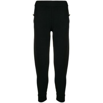 woven track trousers