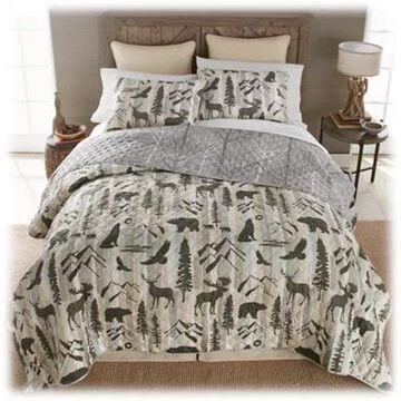 Donna Sharp Forest Weave Bedding Collection Quilt Set