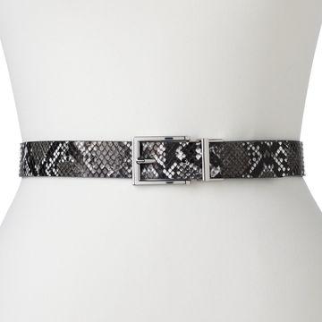 Women's Apt. 9 Snakeskin Reversible Belt