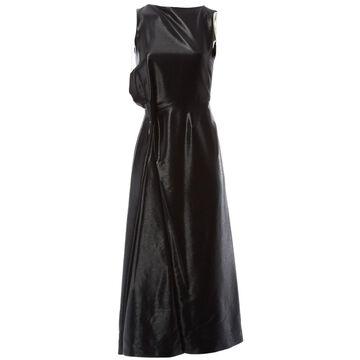 Jil Sander Black Wool Dresses