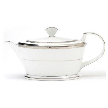 Noritake Chatelaine Platinum Teapot