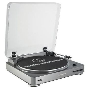 Audio Technica ATLP60USB LP to USB Digital Belt Drive Turntable - Silver