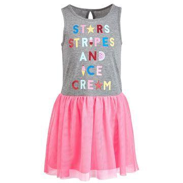 Toddler Girls Ice Cream Tulle Dress, Created for Macy's