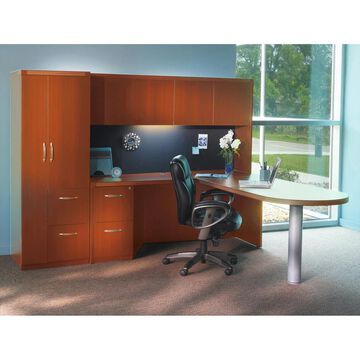 Mayline Aberdeen Series Typical 22 Office Suite (Grey - N/A)