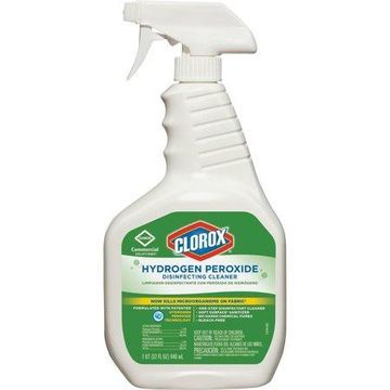 Clorox, CLO30832, Hydrogen Peroxide Disinfecting Cleaner, 1 Each, Clear