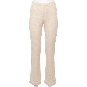 Juniors' WallFlower Cotton Ribbed Flare Pants, Girl's, Size: Medium, White