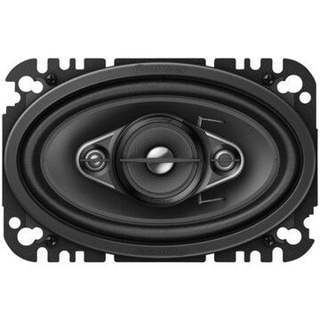 """Pioneer Ts-a4670f A-series Coaxial Speaker System (4 Way, 4"""" X 6"""")"""
