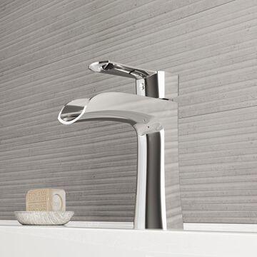 VIGO Paloma Chrome Single Hole Bathroom Faucet