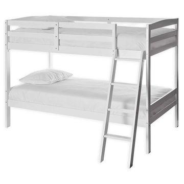 Dream On Me Logan Mini Twin Bunk Bed