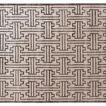 Sylvie Rug - Ivory/Chocolate - Exquisite Rugs - 6'x9'