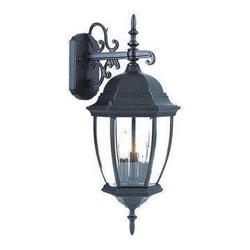 ACCLAIM LIGHTING 5012BK Wall Light,Matte Black,3-Light