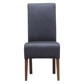 Fine Mod Imports Dinata Dining Chair, Black