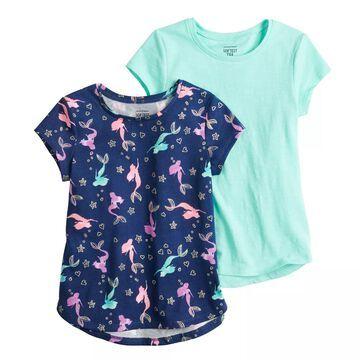 Girls 4-12 Jumping Beans 2-pack Short-Sleeve Tees