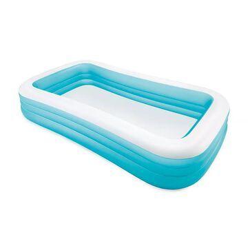 "Intex 120"" X 72"" X 22"" Swim Center Family Inflatable Pool, Multicolor"