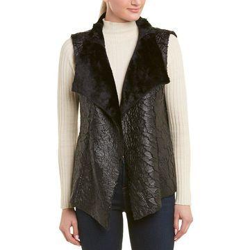 Nydj Womens Coated Vest
